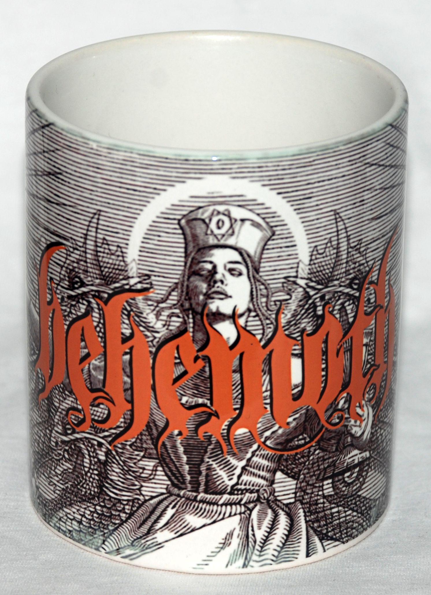 behemoth evangelion coffee mug metal rock t shirts and accessories. Black Bedroom Furniture Sets. Home Design Ideas