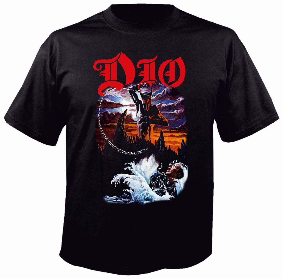 Dio Holy Diver T-Shirt - Metal & Rock T-shirts and Accessories