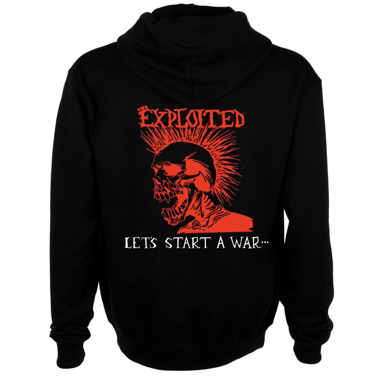 The Exploited Let's Start S War Said Maggie One Day Hoodie