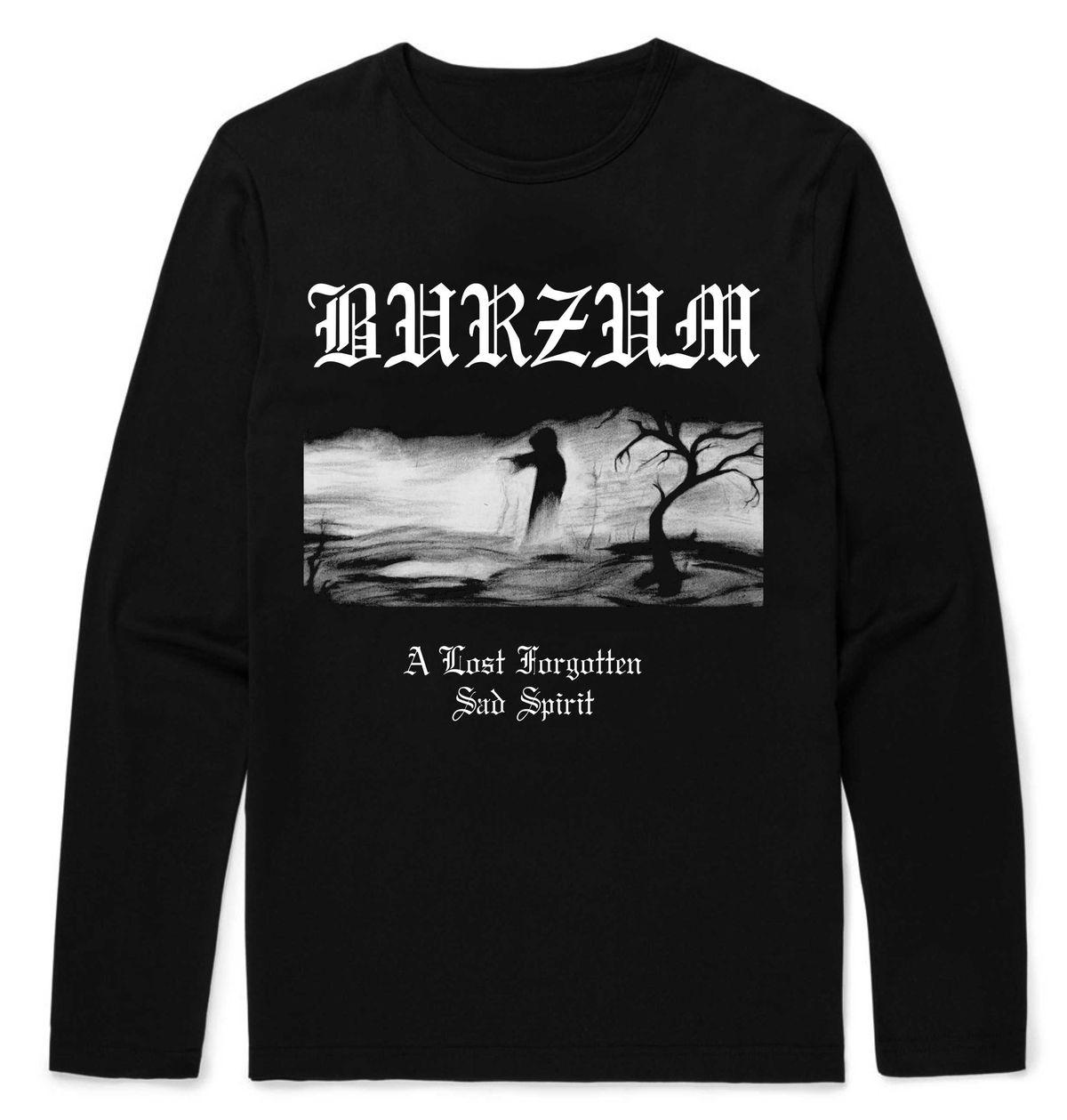 Burzum A Lost Forgotten Longsleeve T-Shirt – Metal & Rock ...