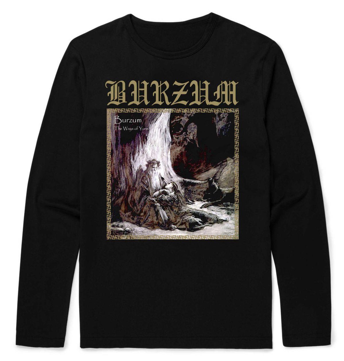 Burzum The Ways Of Yore Longsleeve T-Shirt – Metal & Rock ...