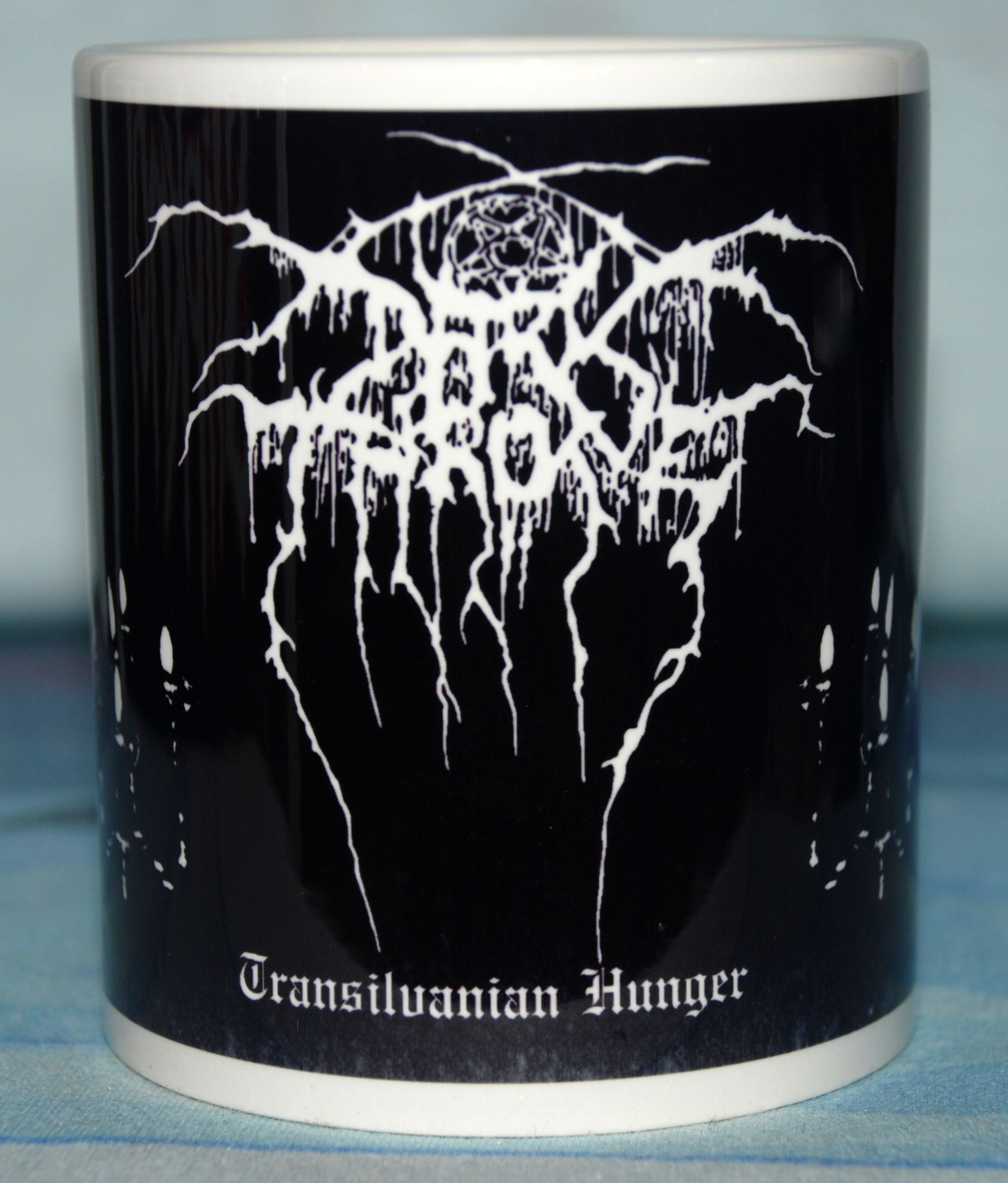 Darkthrone Transilvanian Hunger Coffee Mug Metal Amp Rock