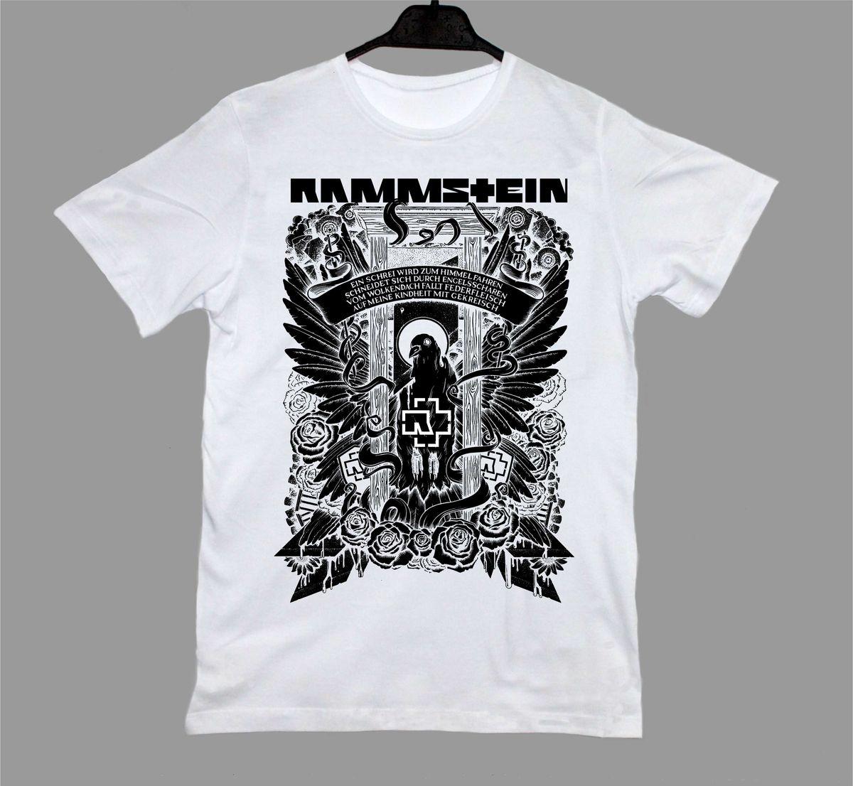 Rammstein Band T-Shirt – Metal \u0026 Rock