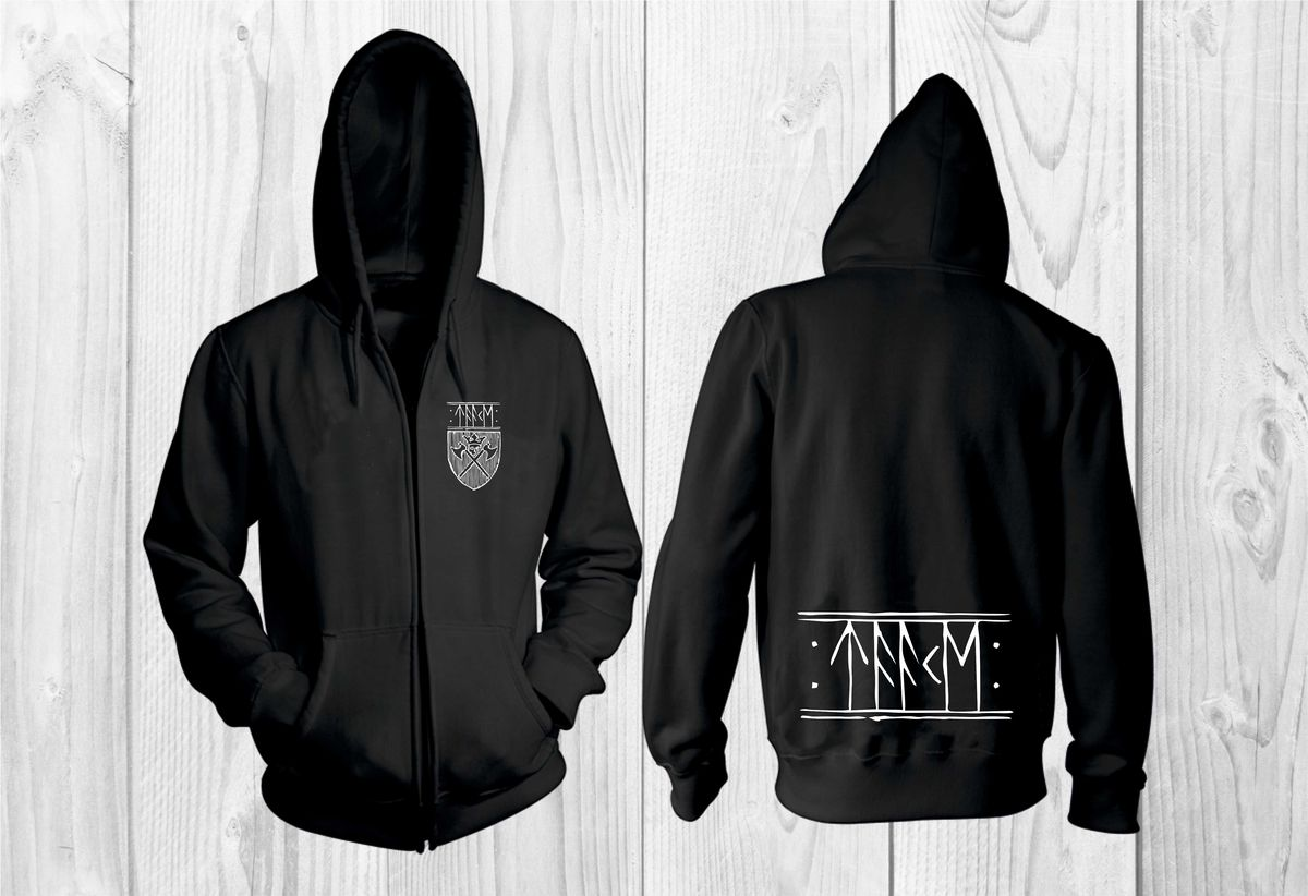 697d809f Taake Band Logo Hoodie – Metal & Rock T-shirts and Accessories